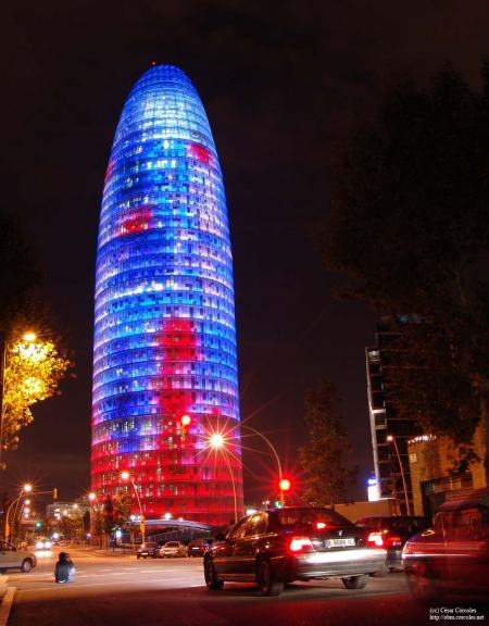 Edificio noche